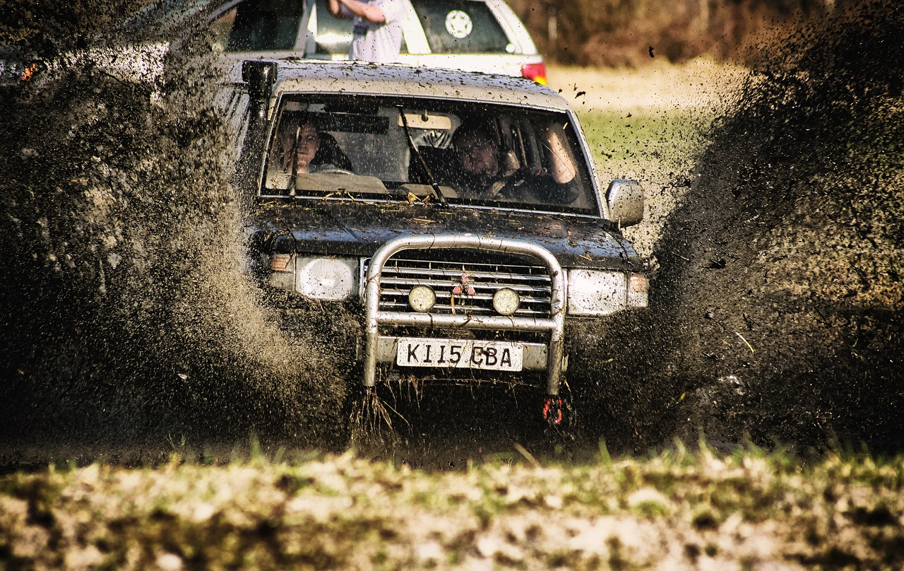 Off Road Recovery Candidate Playing In The Mud